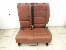 seat Left Rear Earth Brown Art leather for VW Tiguan I 5N 07-11 71TKM!!