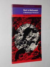 National Theatre Programme 1969 Back To Methuselah Bernard Shaw..