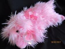 TY Beanie Pinky lilgloss-Rosa SHAGGY DOG-RITIRATO con tag