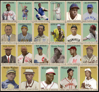2020 LJACards Negro League Baseball Night Hawk Cigar Trading Cards ACEO