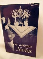Night Adoration for Nurses Rare Vintage Booklet Prayers Devotions Catholic 1949