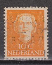 NVPH Netherlands Nederland 520 TOP CANCEL ROTTERDAM Juliana EN FACE 1949