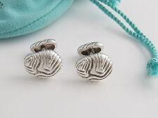 Tiffany & Co RARE Silver Wood Cuff Link Cufflink Cuff Links Cufflinks!