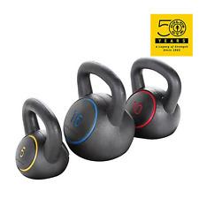 3-Piece 30Ibs Kettlebell Set Vinyl Hand Weight Full Body Workout Muscle Strength