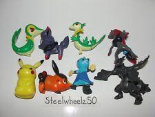 Pokemon McDonalds 8 Figure Lot 2011 Nintendo Pikachu Snivy Servine Tepig Zorua