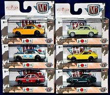 1/64 M2 Machines Auto-Japan  NISSAN & DATSUN set of 6 Walmart Exclusive Cars