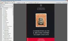 Stanley Gibbons 2020 Commonwealth & British Empire stamps 1840-1970 in P.D.F
