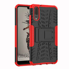 Heavy Duty Tough Shockproof With Stand Hard Case Cover for Various Huawei Mobile Huawei Honor 8 Red