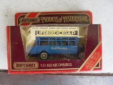 "Matchbox Modells of Yesteryear- ovp. in Box""1922 AEC Omnibus"