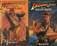 Complete Set Series - Lot of 13 Indiana Jones Books MacGregor Caidin McCoy PB