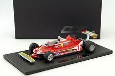 GP Replicas Ferrari 312 T4 #12 G. Villeneuve GP France 1979 1/18