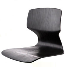 Floor Chair Black Tatami Japanese Zaisu Asian Legless Sitting Seat Reclining