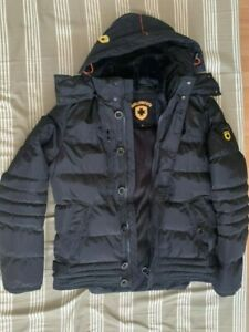 WELLENSTEYN Hommes Veste D/'hiver carmenere Men Noir Carmela 878 Noir