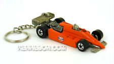 Custom Keychain Turbo Streak Gulf Orange