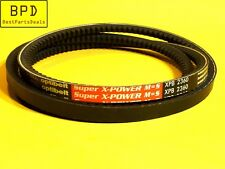 Industrial Multi Purpose Cogged V-Belt XPB - SPB Section OPTIBELT XPB 2360