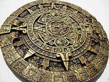 !!! now-lower-price!!! save-2 £ - aztec-calendar-decorative-handmade-bright gold