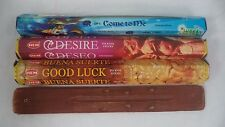 60 Sticks ATTRACTION Incense: 20 COME TO ME 20 DESIRE 20 GOOD LUCK + Burner!