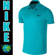 Nike Men's Size 2XL MM Fly Swing Knit Frame Golf Polo Shirt725511 418 Blue