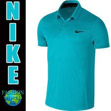 Nike Men's Size 2XL MM Fly Swing Knit Frame Golf Polo Shirt725511 418 Blue