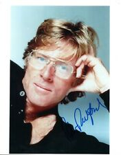 """Robert Redford """"American Actor"""" Hand Signed 10x8 Col Photo Autographed"""