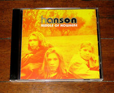 CD: Hanson - Middle of Nowhere MMMBop Where's the Love Weird I Will Come To You
