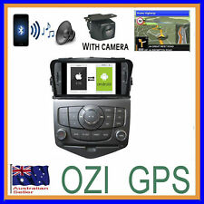 HOLDEN CRUZE 2009-15 DVD CD B/TOOTH APPLE CAR PLAY ANDROID AUTO HEAD UNIT CAMERA