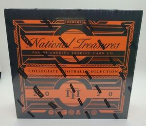 Sealed 2020 Panini National Treasures Collegiate Football Hobby Box🔥