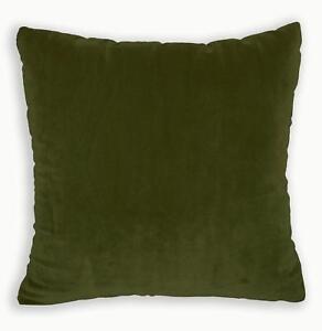 Mf40a Light Gold Olive Green Silky Soft Velvet Cushion/Pillow Cover Custom Size