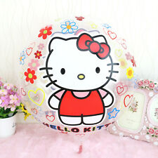 "Hello Kitty foil balloon 18"" 45cm round on clear"