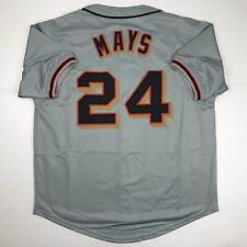 516f9ccaa New WILLIE MAYS San Francisco Grey Custom Stitched Baseball Jersey Size  Men's XL