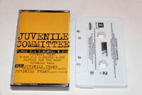 Juvenile Committee - Juvenile Thang Promo Cassette Tape 1993 Hip Hop Gangsta