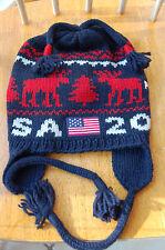 NWT USA 2014 olympics reindeer hat