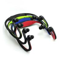 Cordless Headphone Earphone Sport MP3 Music Player FM Radio for Running Jogging