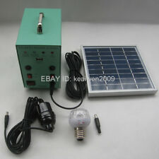 solar power system 6V 4AH battery 9V3W solar panel solar kit charge phone light