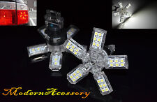 2X 40 SMD 3157 3155 LED WHITE BULBS 5 ARMS SPIDER PARKING TURN SIGNAL TAIL LAMPS