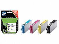 MULTI PACK 4 CARTOUCHES HP 364 CYAN + MAGENTA + JAUNE + NOIR / sd534ee noire