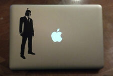 Boba Fett in a Suit Vinyl Sticker Decal Macbook Pro Star Wars funny laptop USA