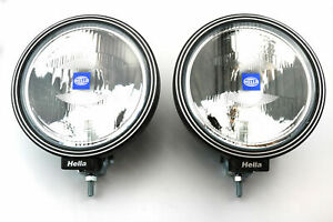 1 Pair HELLA Rallye 3000 Spot light/lamps with Pattern Lens for A Bars Roof Bars