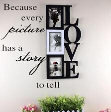 Wall Decal Vinyl Home Decor Sticker Because Every Picture Has A Story To Tell