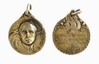 """s1166_68) Medaglia Matteotti 10 Giu 1924 """"L'Idea che è in Me non ..."""" AG Ø 26"""