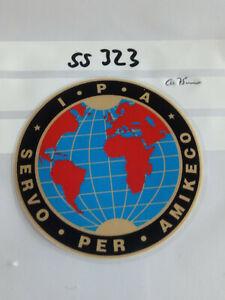 Polizei IPA Aufkleber 75mm auf Glas 1 Stück (ss323A)