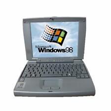 """MINI PORTATILE PC NETBOOK 8"""" WINDOWS 98 Seriale RS232 Ricondizionato LOW COST HD"""