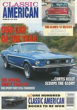 CLASSIC AMERICAN DECEMBER 1993-RICK DORE 57 BUICK-63 PLYMOUTH FURY-68 MUSTANG GT