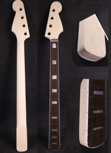 Maple Jazz bass guitar neck 20fret 34inch Block Inlay Rosewood Fretboard