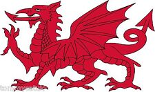 Welsh Dragon Caravan Van Car Exterior Vinyl Stickers Wales Cymru Decals