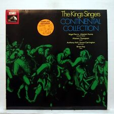 ASD 3557 PERRIN HUME - THE KING'S SINGERS continental collection EMI LP NM