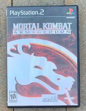 Mortal Kombat: Armageddon (Sony PlayStation 2, 2006) PS2 Complete