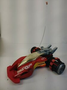 1995 Tonka XRC R/C TireStorm 9.6V 27mHz Red Radio Controlled Race Car only H9