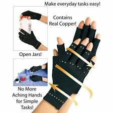 Gym Compression Arthritis Gloves Joint Finger Pain Relief Hand Wrist Support UK