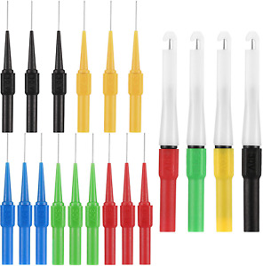 19 PCS Wire Piercing Probe Insulation Back Probes Non-destructive Pin 2 Styles